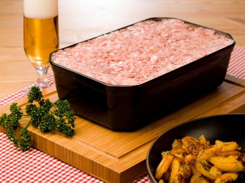 Harmsdorfer Sauerfleisch im Block