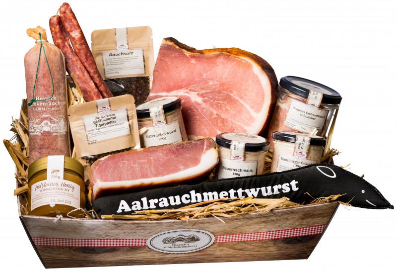 Holsteiner Präsentkorb Nr. 7 (Picknickkorb)