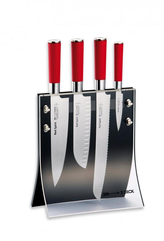 "Messerblock ""4Knives"", Red Spirit, 4-teilig"