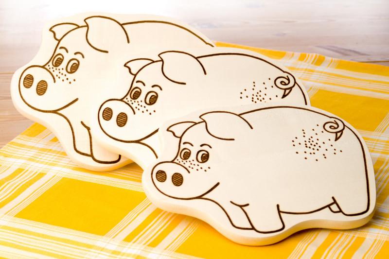 BRAASCH Schweinemotiv