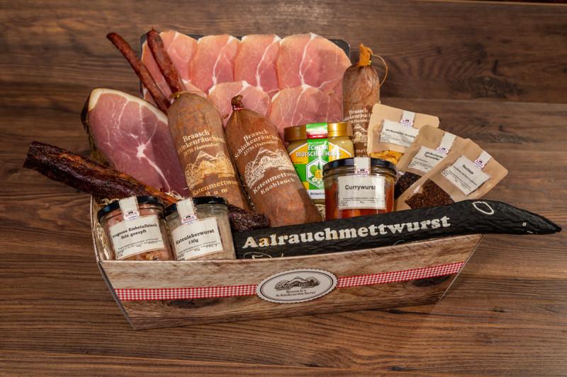 Holsteiner Präsentkorb Nr. 6 (Gourmetkorb)